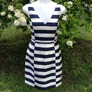 Dolce vita striped dress open strap back  M
